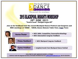 Blackpool Insights Workshop 28Jun15