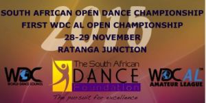 WDC AL SADF South African Championships Logo