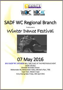 SADF WC Winter Dance Festival_07May2016 Flyer